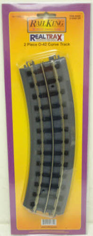 MTH 40-1042-2 RealTrax O42 Curved Track 2-Pack