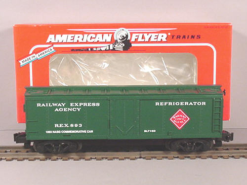 Image result for american flyer railway express reefer