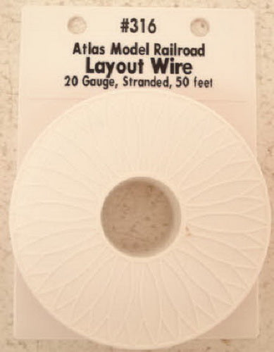 Atlas 316 50 Ft. Red Layout Hookup Wire