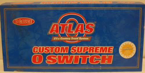 Atlas 6070 O54 Left-Hand Remote Switch Track