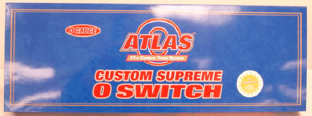 Atlas 6078 O O72/O54 Nickel Silver Right Hand Remote Switch Turnout