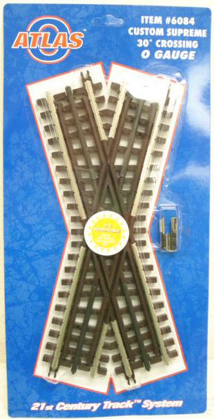 Atlas 6084 O Gauge 30 Degree Crossover Track