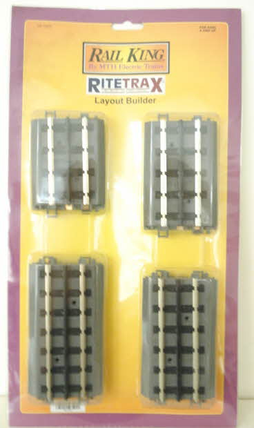 MTH 40-1023 Real Trax 8 Piece Layout Builder Track Pak