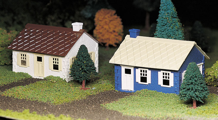 Bachmann 45608 O Plasticville Cape Cod House Classic Classic Building Kits (2)