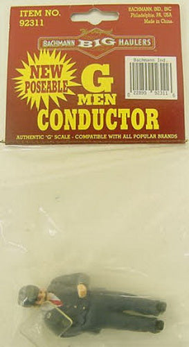 Bachmann 92311 G Scale Man Conductor