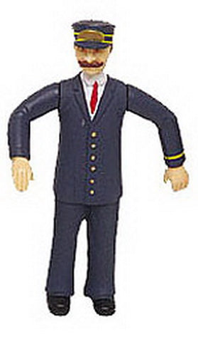 Bachmann 92332 G Scale Motorman Figure w/ Blue Uniform