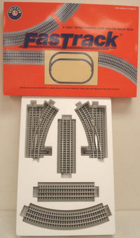 Lionel 6-12031 FasTrack Outer Passing Loop Track Pack