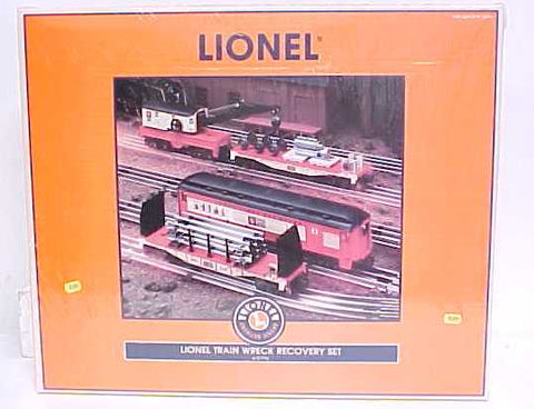 Lionel 6-21775 Train Wreck Recovery Set