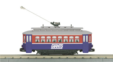 MTH 30-4166-1 New York Giants Trolley R-T-R Train Set