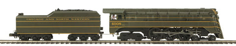 MTH 20-3298-2 Chicago NorthWestern 4-6-4 E-4 Steam Engine w/PS2 (Scale Wheels)