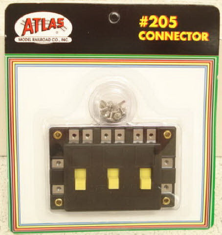 Atlas 205 3 Slide Switch On-Off Connector