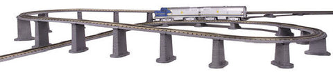MTH 40-1033 Realtrax 24 Piece Graduated Trestle Set