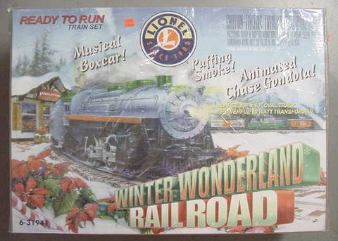 Lionel 6-31941 Winter Wonderland Set MT/Box