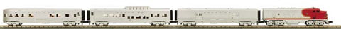 MTH 30-4202-1 Santa Fe Scale F-3 R-T-R Passenger Train Set w/PS 2.0