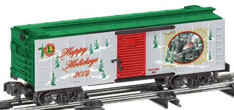 American Flyer 6-48376 S Scale American Flyer S Gauge 2009 Christmas Boxcar NIB