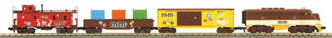 MTH 30-4190-0 M&M'S F-3 R-T-R Freight Train Set w/Horn & Bell
