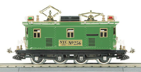 MTH 10-3027-1 Standard Gauge State Green #256 Electric Locomotive with Proto-Sound 2.0