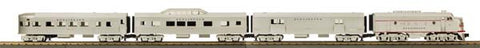 MTH 30-4196-1 Burlington F-3 R-T-R Passenger Train Set w/PS 2.0