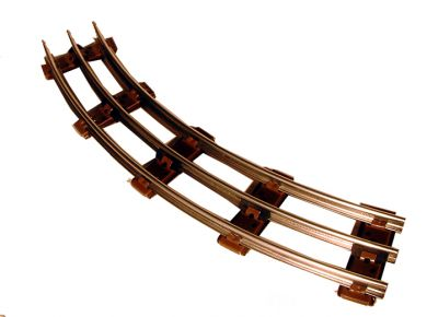 Williams 00201 Bachmann O27 Curve Tubular Track Pack (8)