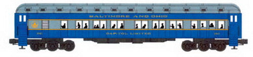 Williams 43307 Baltimore & Ohio 72 Ft. Heavyweight 2-Car Add-On Set