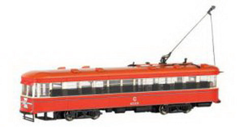 Bachmann 84602 HO Scale Chicago Surface Lines Peter Witt Street Car (DCC)
