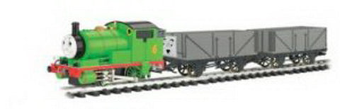Bachmann 90069 G Scale Thomas - Percy w/Troublesome Trucks Electric Train Set