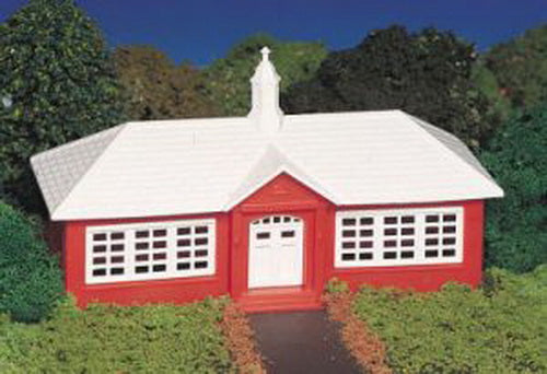 Bachmann 45133 HO School House Building Kit