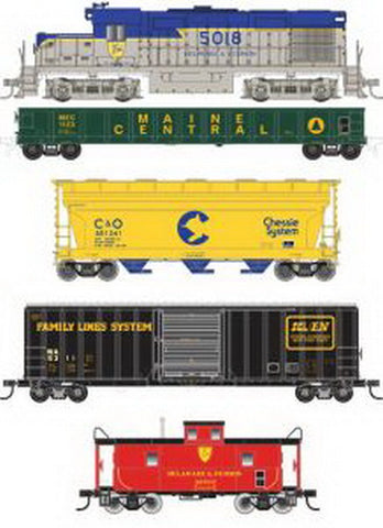 Atlas 0040 HO D&H Freight Train Set