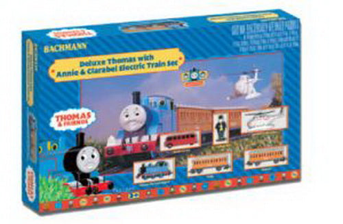 Bachmann 00644 HO Deluxe Thomas & Friends w/ Annie & Clarabel Special Electric Train Set