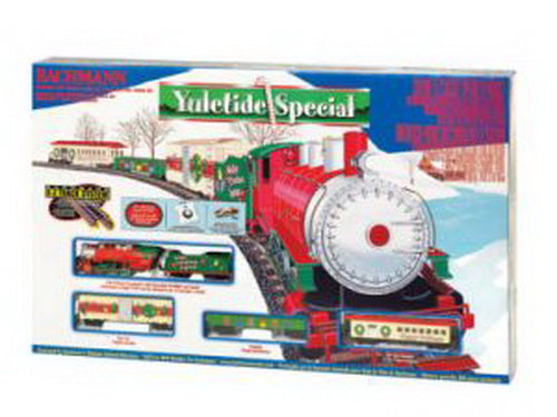 Ho Christmas Train.Bachmann 00664 Ho Yuletide Special Christmas Train Set Trainz