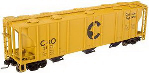 Atlas 877A O Scale Chessie OS-2 Hopper (2 Rail)