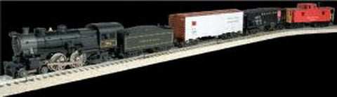 Industrial Rail 1009005S Reading Fast Freight Train Set