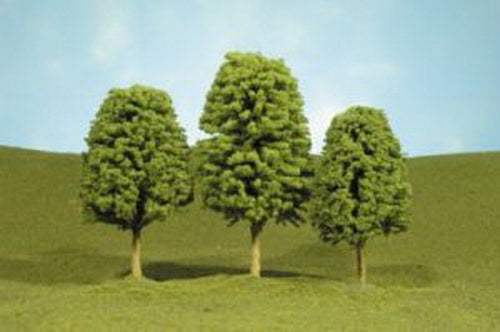 "Bachmann 32006 HO Deciduous Trees 3""-4"" (Pack of 3)"