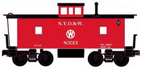 RMT CAB861 NYO&W Lighted Caboose w/ Marker Lights & Figure #8333