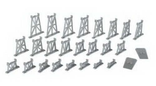 Bachmann 42523 N Graduated Trestle Set (Set of 26)