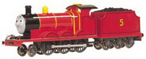 Bachmann 58743 HO Thomas & Friends James The Red Engine Locomotive #5