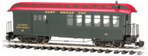 "Bachmann 89692 East Broad Top ""Jackson Sharp"" Coach - Metal Wheels NIB"