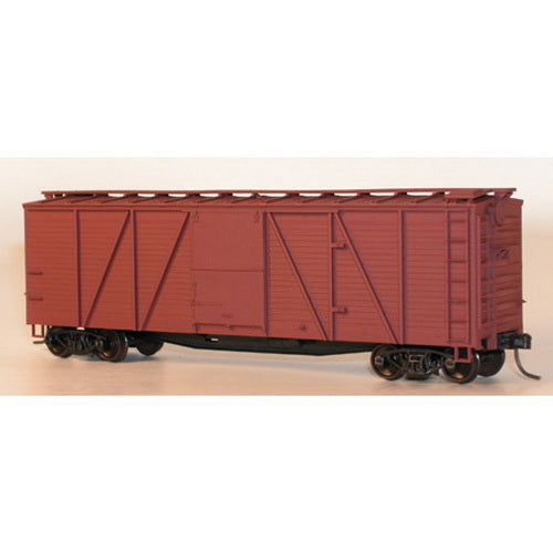 Accurail 7200 Undecorated 40' Single-Sheathed Wood Boxcar Kit