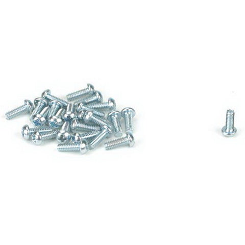 "Athearn 99002 HO 2-56 x 1/4"" Round Head Screw (24)"