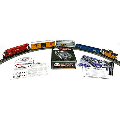 Atlas 0031 CP Rail GP38-2 Freight Train Set