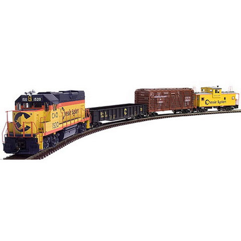 Atlas 110 Chessie GP15 Train Set (3 Rail)