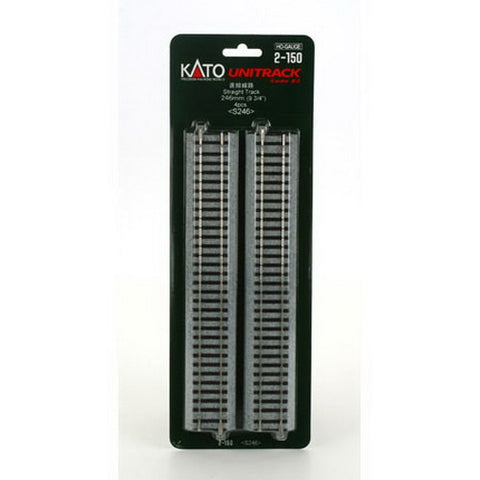 "Kato 2-150 Straight Track 9.7""L  (Pack of 4)"