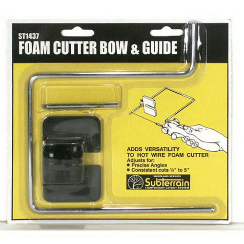 Woodland Scenics ST1437 Hot Wire Foam Cutter Attachment: Bow & Guide