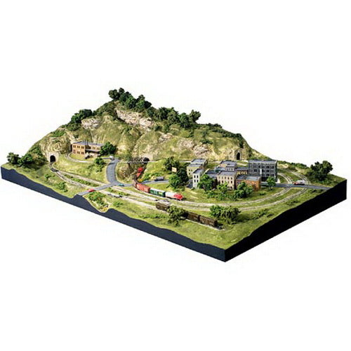 Woodland Scenics ST1482 N Scenic Ridge Lightweight Layout Kit