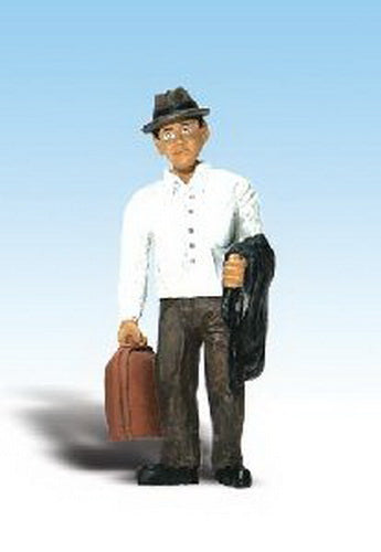 Woodland Scenics A2531 G Scenic Accents Tom Traveler Figure