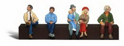 Woodland Scenics A2731 O Scenic Accents Passenger Figures (Pack of 5)