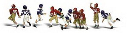 Woodland Scenics A2169 N Youth Football Player Figures (Pack of 9)