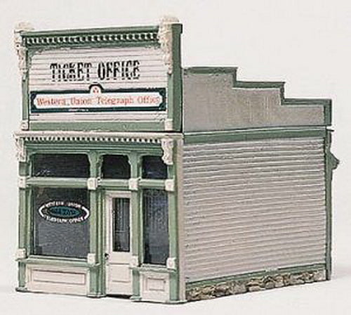 Woodland Scenics D222 HO Scenic Details Ticket Office Building Kit