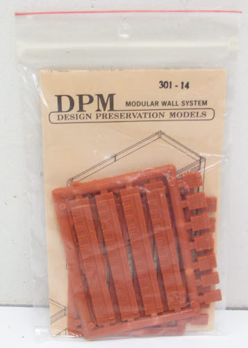 DPM 30114 HO Fancy Cornices Kit (Pack of 8)