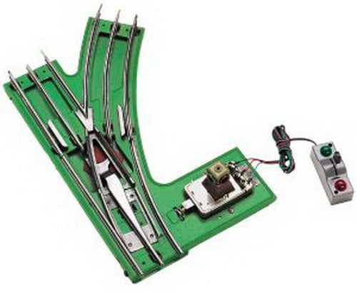 MTH 11-99044 Standard Gauge Tinplate Green 42 Inch Remote RH Switch